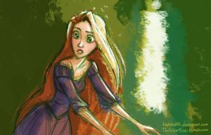 Tangled - Rapunzel by lostie815