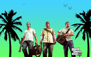 GTA V Wallpaper by spyder-91