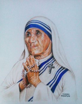 Mother Teresa by TheTrialBeat