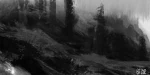 night doodles... by Ben-Andrews