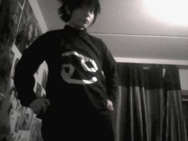 little view for my Karkat cosplay by SasukeUchiha-94