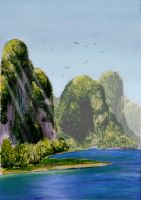 Scenery: Guilin by Cosmicwave