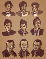 The 3 Doctors by yosilog