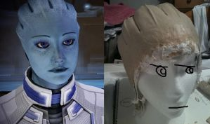 Serious Liara is Serious by Vovea