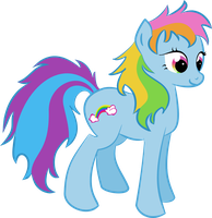 G3 Rainbow Dash by MadhuVati