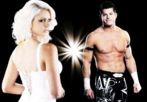 Maryse and Evan Bourne Graphic by verusImmortalis