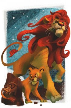 Rising Simba by galgard