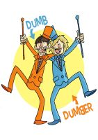 Dumb and Dumber by tyrannus