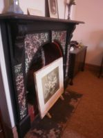 Old fireplace 4 by LuchareStock