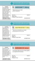 Prescription Labels by Arkham-Insanity