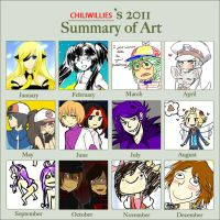 2011 Art Summarrrryyyyy by Jeisuke