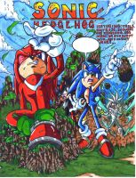 sonic comic cover colored by trunks24
