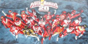 Power Rangers 20th Anniversary by Byo2010