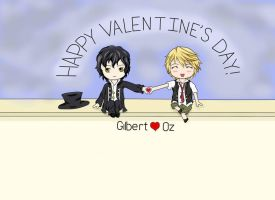 Gil and Oz's Valentine by crazymp24