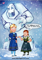 Do you want to build a Snowman? by reaperfox