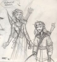 VicTauriel and RebeKili by CaptBexx