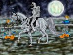 Bailatino : The Spooky Show by Golden-Horse-Stables