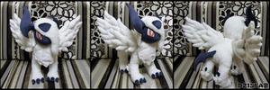 Mega Absol Plush by d215lab