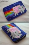 Nyan Cat phone case by Dupa-grzywa