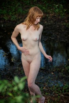 Naked stroll in the woods 21 by DPAdoc