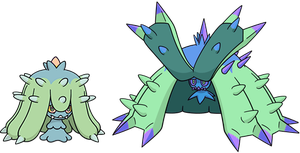 Alternate Shinies: Mareanie and Toxapex