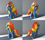 Molded Spitfire Commission by Amandkyo-Su