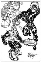 Micronauts commission by Dogsupreme