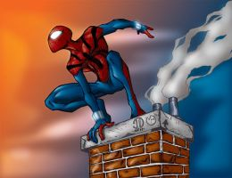 Spider-Man Ben Reilly by MarcBourcier