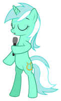 [Request] Singing Lyra by HankOfficer