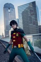 Up Against Robin by TitanesqueCosplay