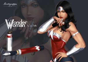 Wonder Woman Montegrappa by iurypadilha