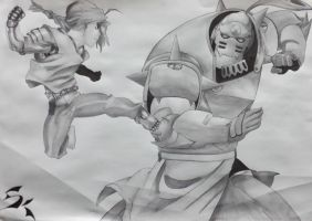 The Elric Brothers by xylotto