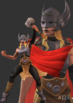 MCoC Thor (Jane Foster) by thePWA