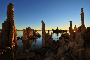Mono Lake Clear Sunrise by enunez