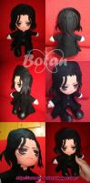 chibi Severus Snape plush version by Momoiro-Botan