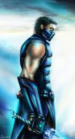 Sub-Zero Jr.(Masked) by VanishingWalker
