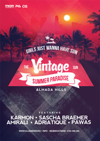 Vintage Summer Flyer by DusskDeejay