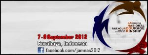 Facebook Cover - Jamming Nasional Parkour 2012  by by ArtOfAdAm