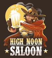 High Noon Saloon [T-Shirt] by Versiris