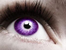 Purple Eye by policyoftruth