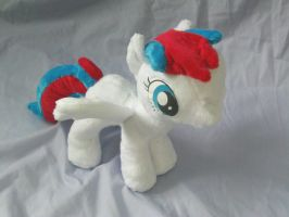 Flipside Wings Posed Outward by DappleHeartPlush