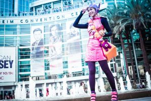 Battle Armor Honey Lemon at Wondercon 2015 by milkchess