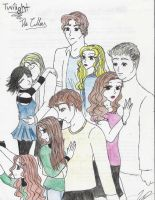 The Cullen Clan by EmpressofHeaven