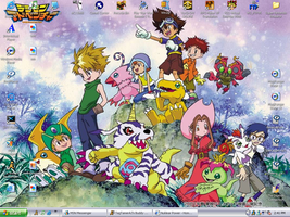 Mah Digimon Desktop by DataHackerRane