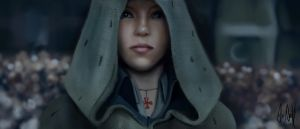 Assassins Creed Unity Elise Fan Art by Mojo-Smileyface