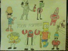 TOON FORTRESS 2 by xandermartin98