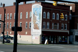 Downtown Mural by NFRANGA
