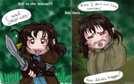 Kili to the Rescue, but then... by Prince-in-Disguise
