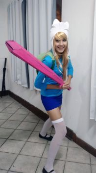 Fionna Cosplay - Adventure Time by tiemiau