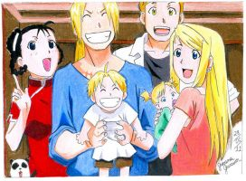 Fullmetal Alchemist Family by shefeelings
